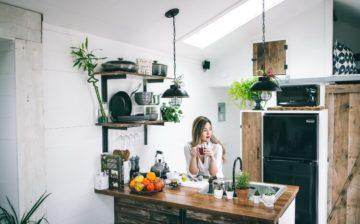 Modern home Renovated kitchen